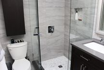 bathrooms with neo angle showers