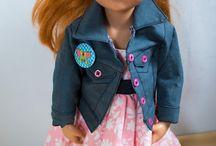 """Puppenkleidung für """"Hannah"""""""