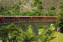 Switzerlan e trenino Bernina