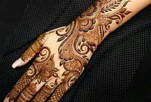 Mehndi ideas - Arabic designs