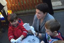 Leaders highlight education policies in Holyrood campaign