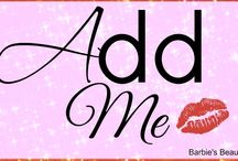 Add ME / By invitation only... leave a message here to be considered  for the DIY BEAUTY レ ♥ √ 乇  BOARD. Board will be for the best pinners~~ keeping the boards free of spammers and fresh ~~  Add Me Swaps Are Welcomed & Encouraged / by Barbie's Beauty Bits