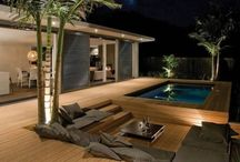 Landscape: Deck & Pool Ideas / by Kimberly Smith