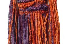 weaving wool hanging / arazzi