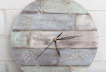 Часы рустик