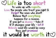 Words to live by / by Trisha Lohman