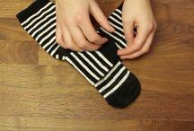 dobrar meias