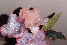 Ceramic flovers