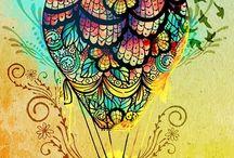 Desenhos / A criatividade é a inteligência se divertindo. (#^.^#)