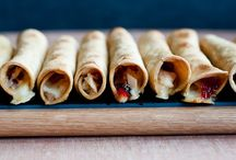Party Food / Delicious tortilla appetizers and party food to nosh on at your upcoming soiree!