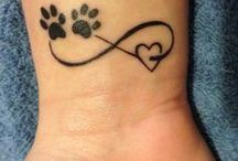 Dog remembrance tattoos