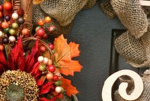Fall Decorations / by Annie Darst