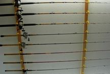 fishing rods storage