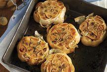Onions, Scallions, Garlic + Leeks / Garlic, onions, scallions, and leeks are all members of the allium family.