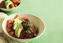 Veggie bowls, soups, mains