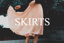 Skirts / Stylish, savvy, sexy... skirts!