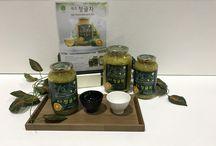 Jeju green madarin tea