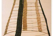 Oděv 2. rokoko / -1840-1870 - návrat ke krinolínám -1829 - vynalezen šicí stroj (rozmah kofekce)