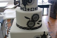 african wedding cake
