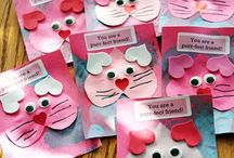 Valentine's Day Ideas / Ideas for crafts and school activities for San valentine's Day / by Leticia Arnold
