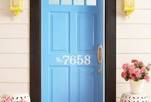 front door color / by Tami Whiting
