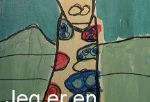 Malerier Anette Berke / Malerier av Anette Bjerke som er uten språk får fargene til å synge på lerret.