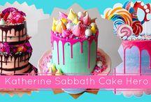 Katherine Sabbath Cake Hero / Katherine Sabbath Cakes on Cakes Inc: http://cakes-inc.com/cake-hero-katherine-sabbath/