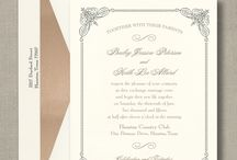 William Arthur Collections / Some of the most beautiful, quality invitations from William Arthur. All available at Persnickety Invitation Studio.