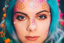Sky punk mermaid