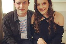 katherine langford and dylan minnette❤❤