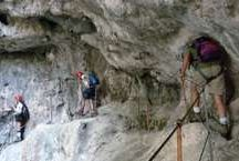 Italy and Austria / Caving, via ferrata, outdoor activities in Italy and Austria