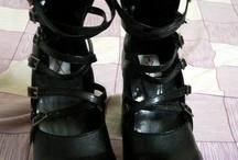 Shoe Fetish / Tall and shiny