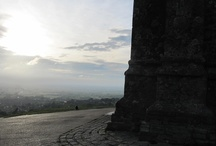 Glastonbury Tor / The beautiful hill, just a shortwalk away from my house and my practice www.karinschluter.nl