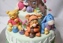 Winnie The Pooh & Friends Cakes