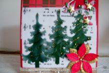 kerst 2012 / scrapkaarten