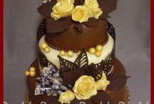 My Wedding cakes / svatební dorty, které jsem vytvořila