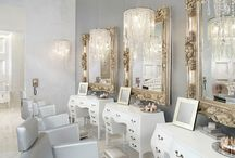 Salon design / Different ideas of what I want in my makeup boutique and possibly for the races setup.