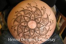 belly henna