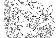 disney princess colouring pages