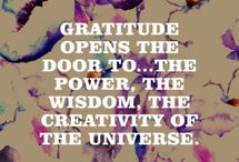 GRATEFUL / It's all about an attitude of gratitude.