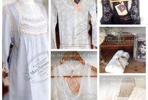 Mary Armstrong y sus delicadas camisas de dormir, un exclusivo regalo para el día de la madre. / Camisas de dormir