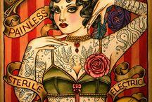 Tatoos / Тут я собираю различного типа и вида татуировки. Самые лучшие и необычные. Не для того, чтобы наколоть что-то похожее, а дабы полюбоваться.