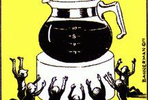 Kaffe-sjov / Hvis ikke vi kan få et lille smil frem på læben med dette pinterest board, så trænger du virkelig til en kop kaffe!