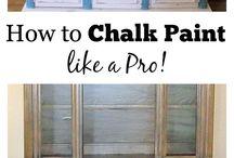 Chalk Board Furniture