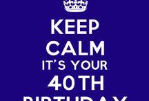 40 bday