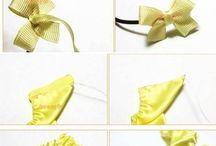 látkové a papírové květiny