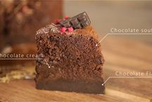 Let's bake a cake! / Various cake recipe with video of how to make them.    by 7 Cut Recipe  http://7cutrecipe.com/