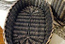 плетение из бумажной лозы