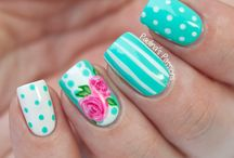 ♡♣♧uñas floral♧♣♡ / Welcome to the board floral nail.. feel free to invite your friends to contribute to this great board. ;)