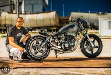 The man & The machine / People behind the monitors show us your face & your ride. With just one picture show us who you are & what are you riding! Send picture & infos to 7sevencustoms@gmail.com / by 7seven customs